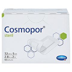 COSMOPOR steril Wundverband 5x7,2 cm CPC 50 Stück - Vorderseite