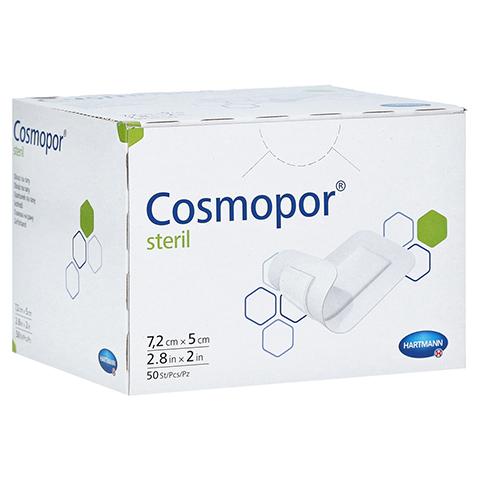 COSMOPOR steril Wundverband 5x7,2 cm CPC 50 Stück