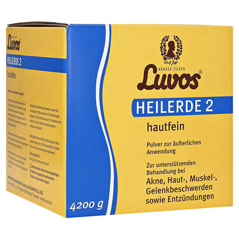 LUVOS Heilerde 2 hautfein 4200 Gramm