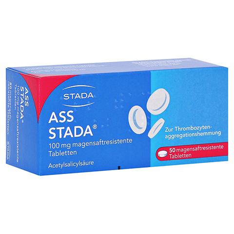 ASS STADA 100 mg magensaftresistente Tabletten 50 Stück N2