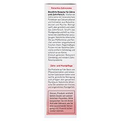 WELEDA Ratanhia Zahncreme 75 Milliliter - Rechte Seite