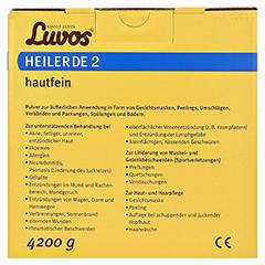 LUVOS Heilerde 2 hautfein 4200 Gramm - Rückseite