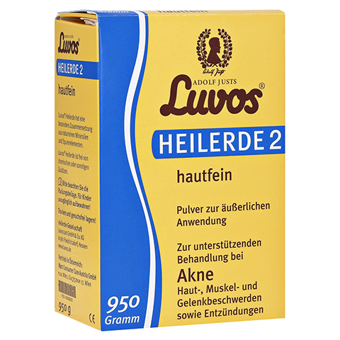 Luvos Heilerde 2 hautfein 950 Gramm
