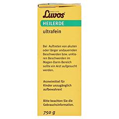 LUVOS Heilerde ultrafein 750 Gramm - Rechte Seite