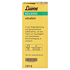 LUVOS Heilerde ultrafein 750 Gramm - Linke Seite