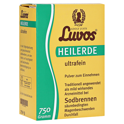 LUVOS Heilerde ultrafein 750 Gramm