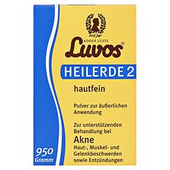 Luvos Heilerde 2 hautfein 950 Gramm - Vorderseite