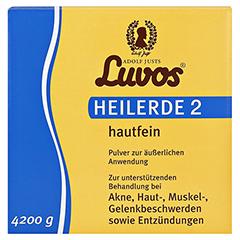 LUVOS Heilerde 2 hautfein 4200 Gramm - Vorderseite
