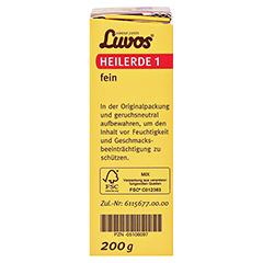LUVOS Heilerde 1 fein 200 Gramm - Linke Seite
