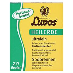 Luvos-Heilerde Ultrafein Beutel 20x6.5 Gramm - Vorderseite