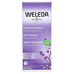 WELEDA Lavendel Entspannungsbad 200 Milliliter - Vorderseite