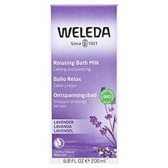 WELEDA Lavendel Entspannungsbad 200 Milliliter - Rückseite