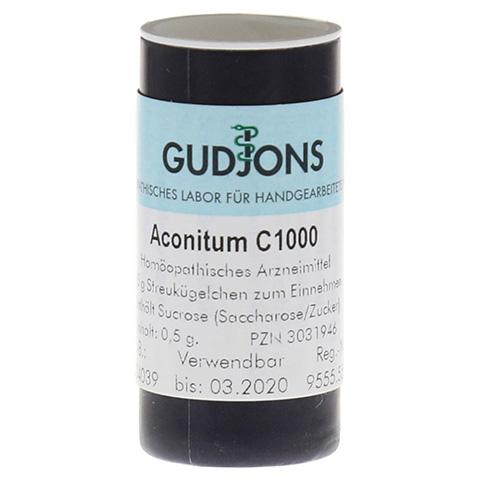 ACONITUM C 1000 Einzeldosis Globuli 0.5 Gramm N1