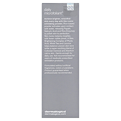 dermalogica Daily Microfoliant 75 Gramm - Rückseite