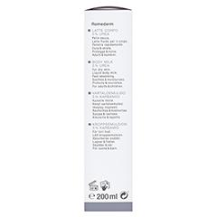 WIDMER Remederm Körpermilch 5% Urea leicht parf. 200 Milliliter - Linke Seite