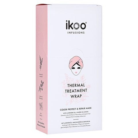 ikoo Thermal Treatment Wrap - Color Protect & Care 5 Stück