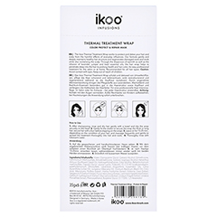 ikoo Thermal Treatment Wrap - Color Protect & Care 5 Stück - Rückseite