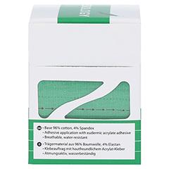 NASARA Kinesiologie Tape 5 cmx5 m grün 1 Stück - Linke Seite