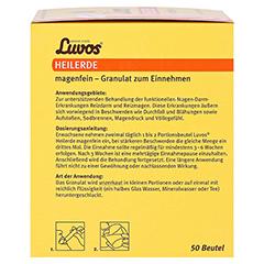 Luvos Heilerde Magenfein in Beuteln 50 Stück - Linke Seite