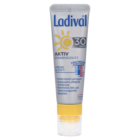Ladival Aktiv Sonnenschutz für Gesicht und Lippen 1 Packung