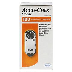 ACCU CHEK Mobile Testkassette Plasma II 100 Stück - Vorderseite