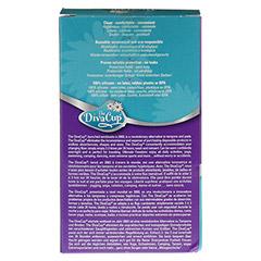 DIVA CUP Menstruations Kappe Gr.2 1 Stück - Rückseite