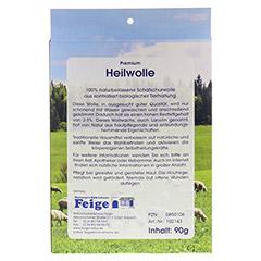HEILWOLLE 1 Stück - Rückseite