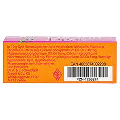 OSANIT Globuli zuckerfrei 7.5 Gramm N1 - Unterseite