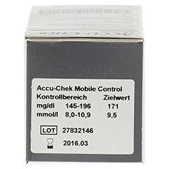 ACCU CHEK Mobile Testkassette Plasma II 100 Stück - Unterseite