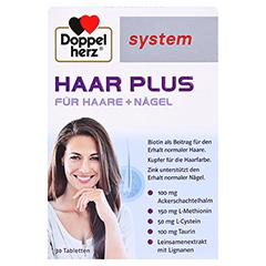 DOPPELHERZ Haar Plus system Tabletten 30 Stück - Vorderseite