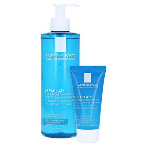 La Roche-Posay Effaclar Schäumendes Reinigungsgel + gratis La Roche Posay Effaclar Reinigungsgel 50 ml 400 Milliliter