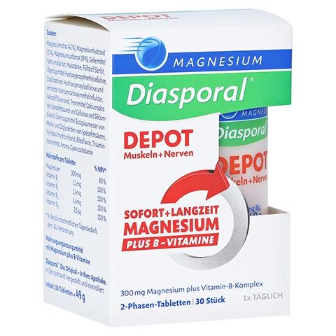 Magnesium Diasporal Depot Muskel und Nerven Tabletten 30 Stück