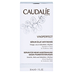 CAUDALIE Vinoperfect serum eclat anti taches + gratis Caudalie Vinoperfect Essenz 5 ml 30 Milliliter - Vorderseite