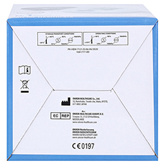 OMRON M300 Oberarm Blutdruckmessgerät HEM-7121-D 1 Stück - Oberseite