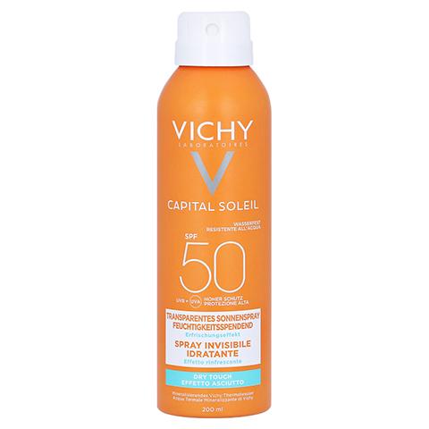 Vichy Ideal Soleil Transparentes Sonnenspray LSF 50 + gratis Vichy Ideal Soleil After-Sun 200 Milliliter