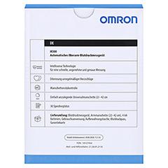 OMRON M300 Oberarm Blutdruckmessgerät HEM-7121-D 1 Stück - Rückseite
