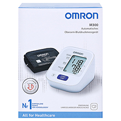 OMRON M300 Oberarm Blutdruckmessgerät HEM-7121-D 1 Stück - Vorderseite