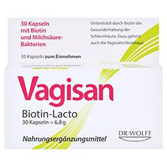 Vagisan Biotin-lacto Kapseln 30 Stück - Vorderseite