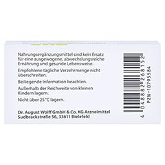 Vagisan Biotin-lacto Kapseln 30 Stück - Unterseite