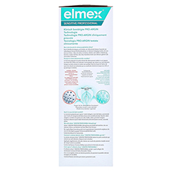 Elmex Sensitive Professional Zahnspülung 400 Milliliter - Linke Seite