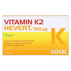 Vitamin K2 Hevert 100 µg Kapseln 60 Stück - Vorderseite