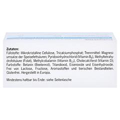 VITANEURAX B-Vitamine+D3 Filmtabletten 90 Stück - Oberseite