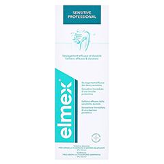 Elmex Sensitive Professional Zahnspülung 400 Milliliter - Rückseite