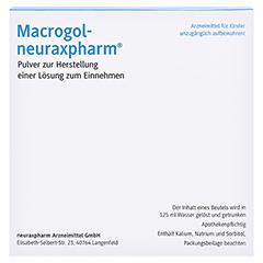 Macrogol-neuraxpharm 30 Stück N2 - Linke Seite