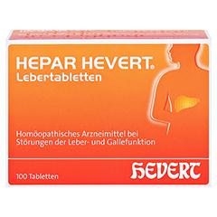 HEPAR HEVERT Lebertabletten 100 Stück N1 - Vorderseite