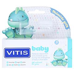 VITIS BABY Gel+Fingerzahnbürste Zahngel 30 Milliliter - Vorderseite