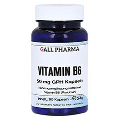 VITAMIN B6 50 mg GPH Kapseln 90 Stück
