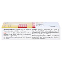 Vitamin D3+K2 2000 I.E. 120 Stück - Rechte Seite