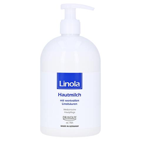 LINOLA Hautmilch Spender 500 Milliliter