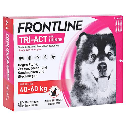 FRONTLINE Tri-Act Lsg.z.Auftropfen f.Hunde 40-60kg 6 Stück